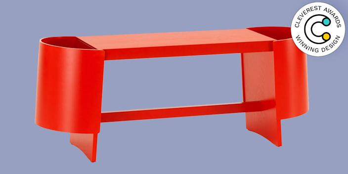 Artek Kiulu Bench by Koichi Futatsumata A standard bench in your entryway would only serve as a dumping ground for your keys, bag, and other everyday grab-and-go items. But this design comes with spacious storage bins on either end, so those essentials can be tossed out of sight for that clutterless life you've been meaning to have. artek.fi