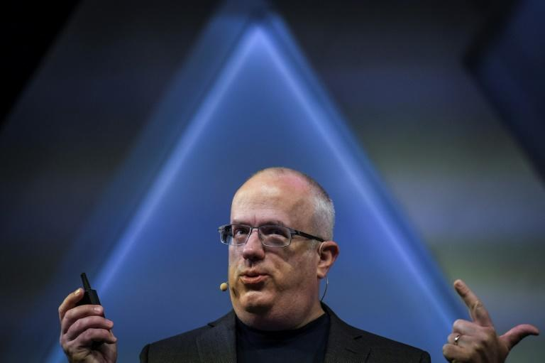 """The way ahead is """"privacy by default,"""" Brave CEO Brendan Eich told the summit (AFP Photo/PATRICIA DE MELO MOREIRA)"""