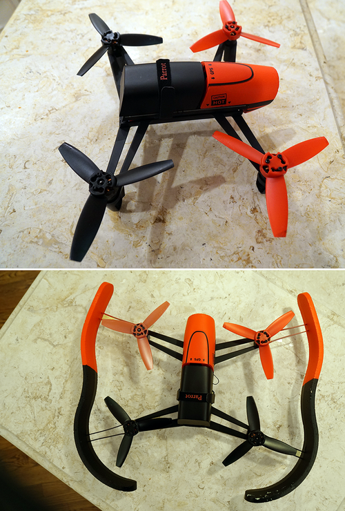 Parrot's New Bebop Drone Flies Like an Angel — Once You