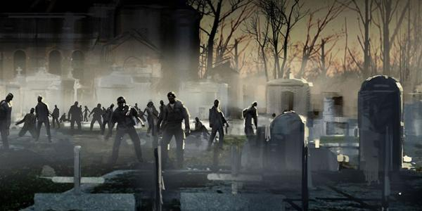 Turtle Rock comparte arte de su juego de zombies, Back 4 Blood