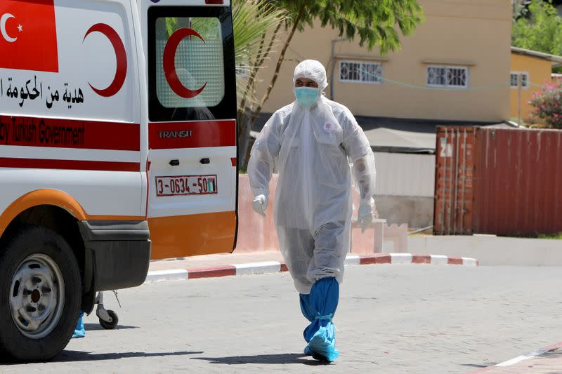Gaza coronavirus lockdown extended by 72 hours after infections spread