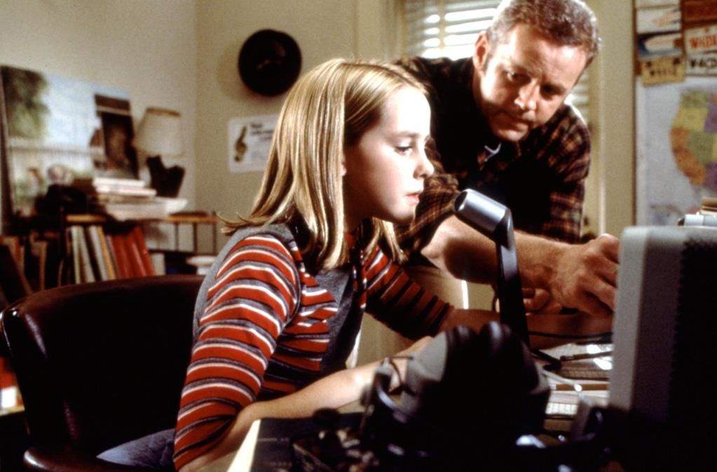 "Jena's big break came when she was cast as the 12-year-old version of Jodie Foster's character in director Robert Zemeckis' ""<a href=""http://movies.yahoo.com/movie/1809393894/info"">Contact</a>,"" based on the novel by Carl Sagan. In the movie's opening shot, digital effects changed the color of Jena's brown eyes to blue so they would match Foster's."