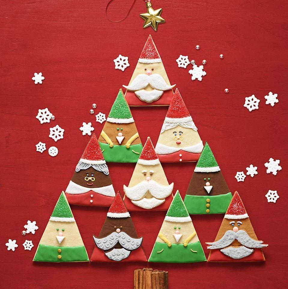 """<p>These fa-la-la-la-fun treats double as a crafty project!</p><p><em><a href=""""https://www.womansday.com/food-recipes/a34659118/santa-and-elf-cookies-recipe/"""" rel=""""nofollow noopener"""" target=""""_blank"""" data-ylk=""""slk:Get the recipe from Woman's Day »"""" class=""""link rapid-noclick-resp"""">Get the recipe from Woman's Day »</a></em></p>"""