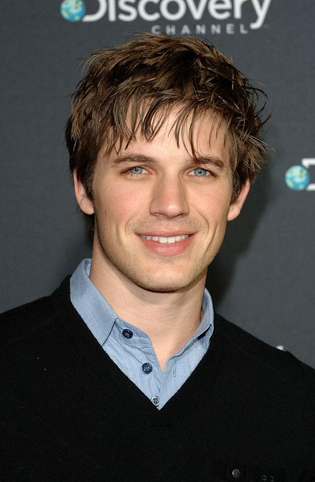 "<a href=""/matt-lanter/contributor/2147665"">Matt Lanter</a> arrives at Discovery Channel's Los Angeles Screening of <a href=""/life/show/44198"">""Life""</a> at the Getty Center on February 25, 2010."