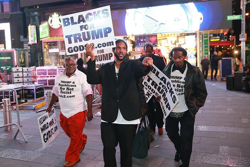 Black supporters of Donald Trump