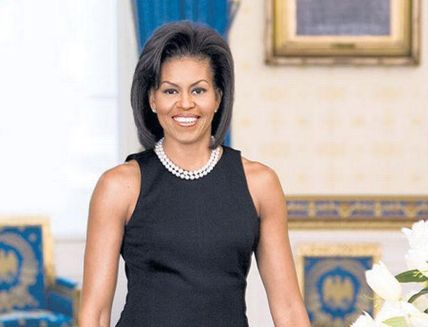 Michelle Obama's first Official White House Portrait. (Photo: White House)