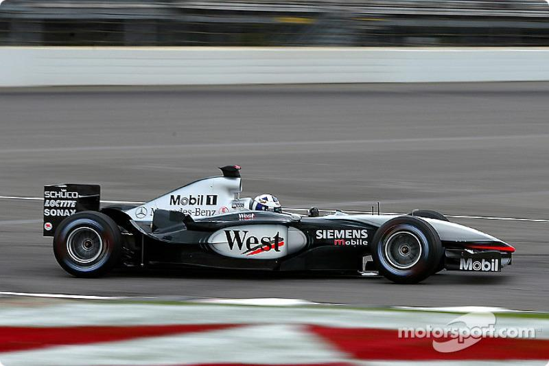"2002-2003: McLaren-Mercedes MP4-17D<span class=""copyright"">Michael Kim</span>"