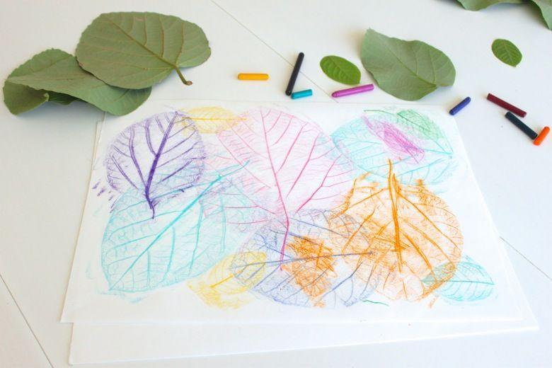 "<p>Have lots of crayons without the wrappers? (Us too!) Instead of tossing them, put them to good use by letting your child make a fun leaf rubbing collage.</p><p><em><a href=""https://mamapapabubba.com/2014/09/29/leaf-rubbing-collages/#_a5y_p=2704684"" rel=""nofollow noopener"" target=""_blank"" data-ylk=""slk:Get the tutorial at Mama. Papa. Bubba. »"" class=""link rapid-noclick-resp"">Get the tutorial at Mama. Papa. Bubba. »</a> </em></p>"
