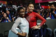 <p>Suni has spoken about how Simone supported her during her father's recovery and the two remain close friends. (Photo by LIONEL BONAVENTURE/AFP via Getty Images)</p>