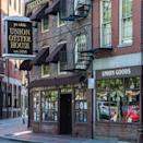 """<p>The """"ye olde"""" modifier on this restaurant's sign isn't just there for kitsch. Built in 1704, <a href=""""https://www.tripadvisor.com/Restaurant_Review-g60745-d321626-Reviews-Union_Oyster_House-Boston_Massachusetts.html"""" rel=""""nofollow noopener"""" target=""""_blank"""" data-ylk=""""slk:Union Oyster House"""" class=""""link rapid-noclick-resp"""">Union Oyster House</a> served some of the nation's founding fathers once it became a restaurant in 1826, and JFK eventually became a regular. You can sit at his favorite booth and enjoy oysters, chowder, and lobster rolls.</p>"""