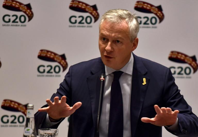 French Finance Minister Bruno Le Maire told his G20 counterparts the key question was whether the world economy would bounce back from the disruption caused by the coronavirus or slide into a protracted slowdown
