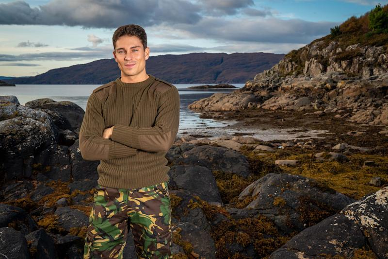 Joey Essex was interrogated on 'Celebrity SAS: Who Dares Wins'. (Channel 4)