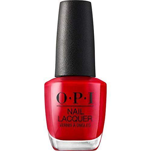 """<p><strong>OPI</strong></p><p>amazon.com</p><p><strong>$10.50</strong></p><p><a href=""""https://www.amazon.com/dp/B0034E103K?tag=syn-yahoo-20&ascsubtag=%5Bartid%7C10055.g.28589490%5Bsrc%7Cyahoo-us"""" rel=""""nofollow noopener"""" target=""""_blank"""" data-ylk=""""slk:Shop Now"""" class=""""link rapid-noclick-resp"""">Shop Now</a></p><p>You can't forget Wednesday's signature <a href=""""https://www.goodhousekeeping.com/beauty/nails/g29831822/best-red-nail-polish-colors/"""" rel=""""nofollow noopener"""" target=""""_blank"""" data-ylk=""""slk:red nail polish"""" class=""""link rapid-noclick-resp"""">red nail polish</a>! This nail lacquer from OPI in shade """"Big Apple Red"""" is the perfect color — plus you'll probably be wearing it every day outside Halloween, too.</p>"""