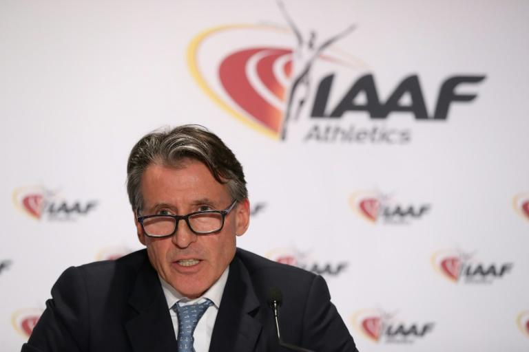 IAAF president Sebastian Coe confirmed that 19 Russian athletes were in London to compete at the worlds