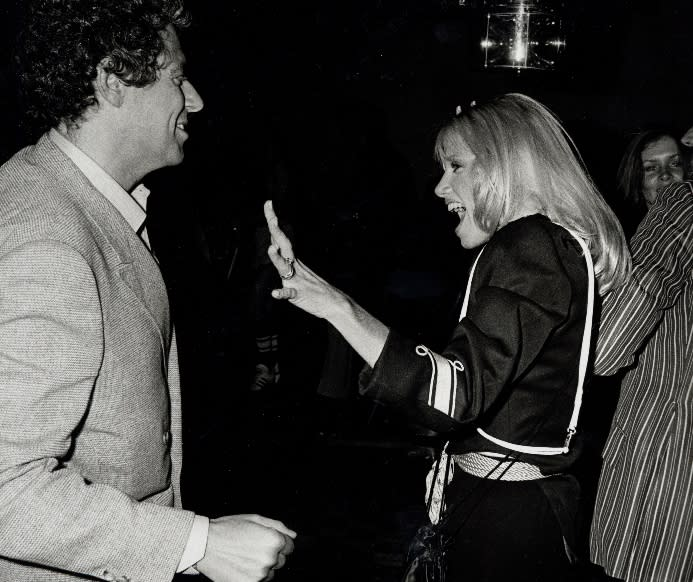 Suzanne Somers and Alan Hamel - Credit: Ron Galella/Ron Galella Collection via Getty Images.