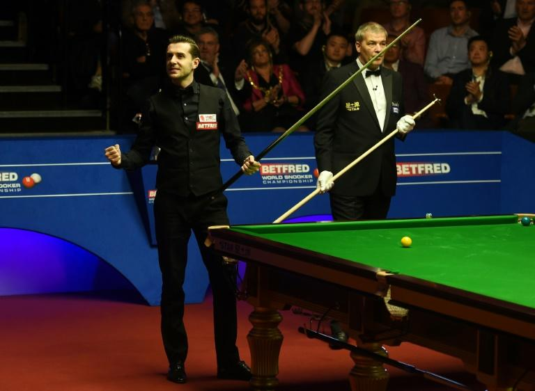 Selby ends Australian Robertson's world championship hopes