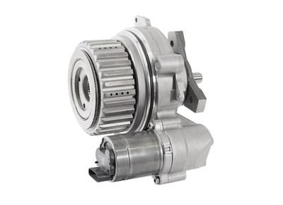 BorgWarner's latest all-wheel drive (AWD) coupling features a compact brushless direct current (BLDC) motor and highly integrated electronics