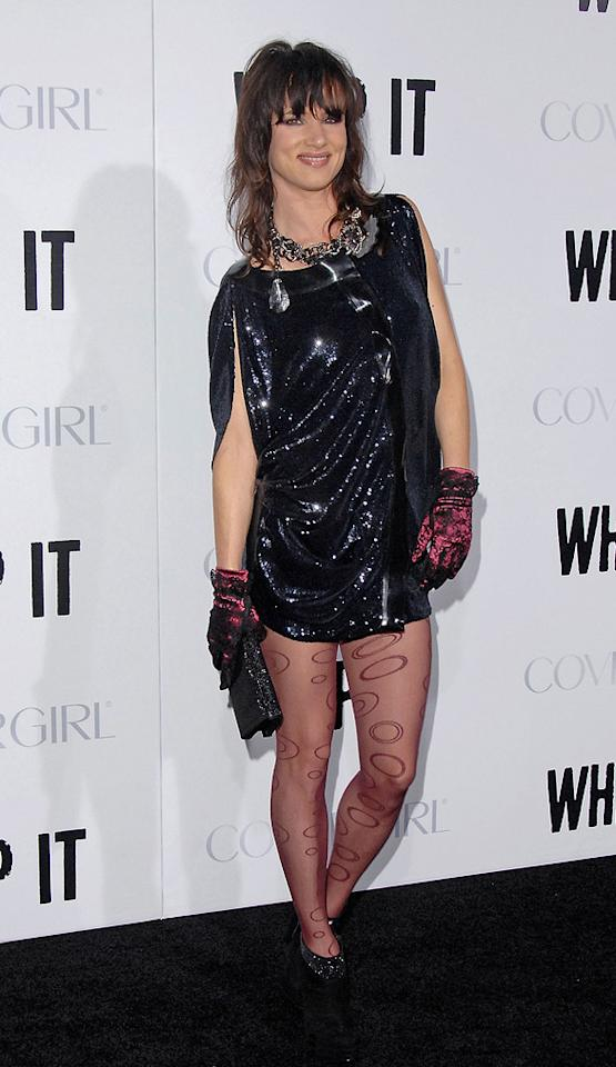"""<a href=""""http://movies.yahoo.com/movie/contributor/1800019350"""">Juliette Lewis</a> at the Los Angeles premiere of <a href=""""http://movies.yahoo.com/movie/1810036665/info"""">Whip It!</a> - 09/29/2009"""