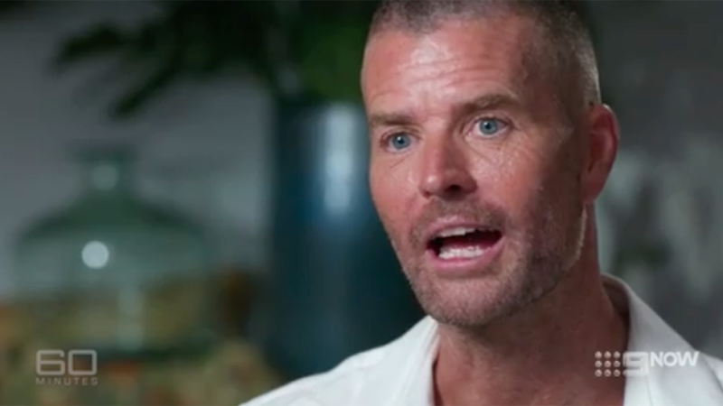Pete Evans appears on 60 Minutes to discuss coronavirus theory in June 2020