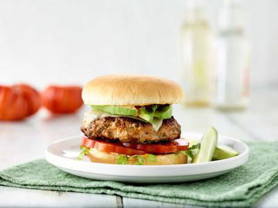 "It's not just any California-style burger from San Francisco chef and sommelier Christina Machamer. The winner of ""Hell's Kitchen"" on FOX created the California Turkey Burger infused with spices and topped with veggies and cheese."