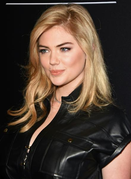 Model Kate Upton -- shown here at an awards gala in California in December 2014 -- says Paul Marciano forcibly groped and kissed her