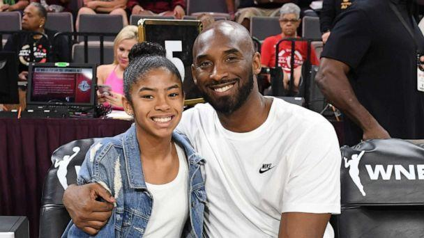 PHOTO: Gianna Bryant and her father, former NBA player Kobe Bryant, attend the WNBA All-Star Game 2019 at the Mandalay Bay Events Center, July 27, 2019, in Las Vegas. (Ethan Miller/Getty Images, FILE)