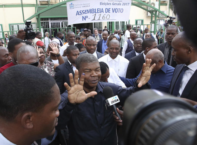 Angolan election commission says ruling party has big lead