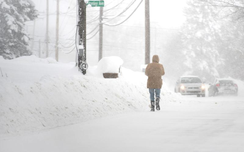 Pennsylvania saw two days of record-breaking snow in the town of Erie over the Christmas period. The east coast is braced once again for more freezing weather - REUTERS
