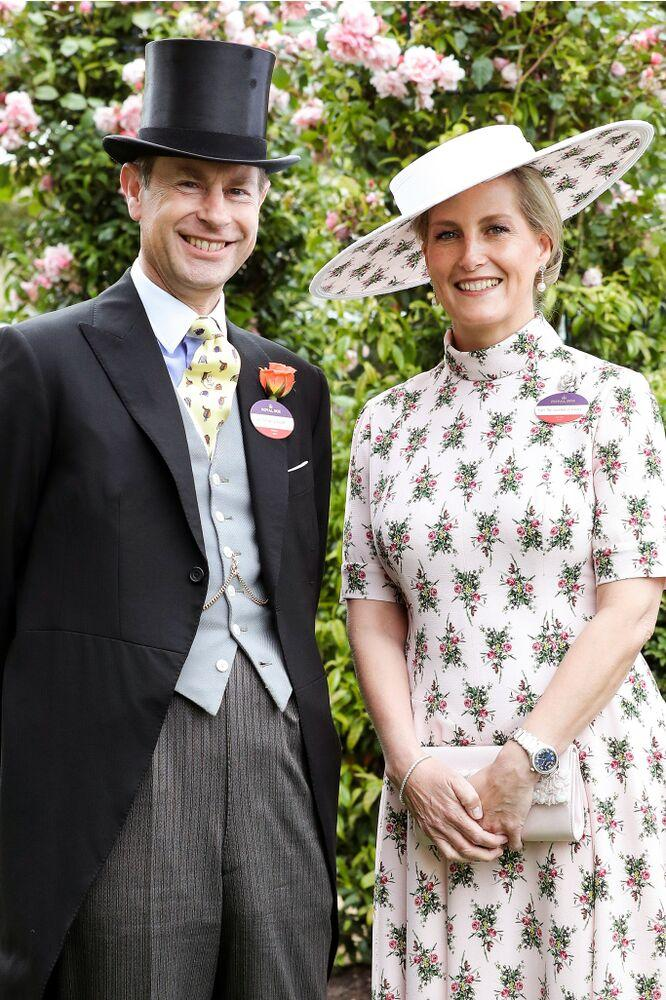 Prince Edward and Sophie, Countess of Wessex | Chris Jackson/Getty