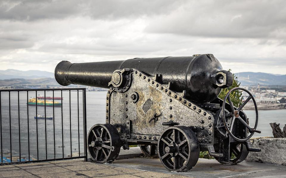 Gibraltar is a gigantic fortress - Getty