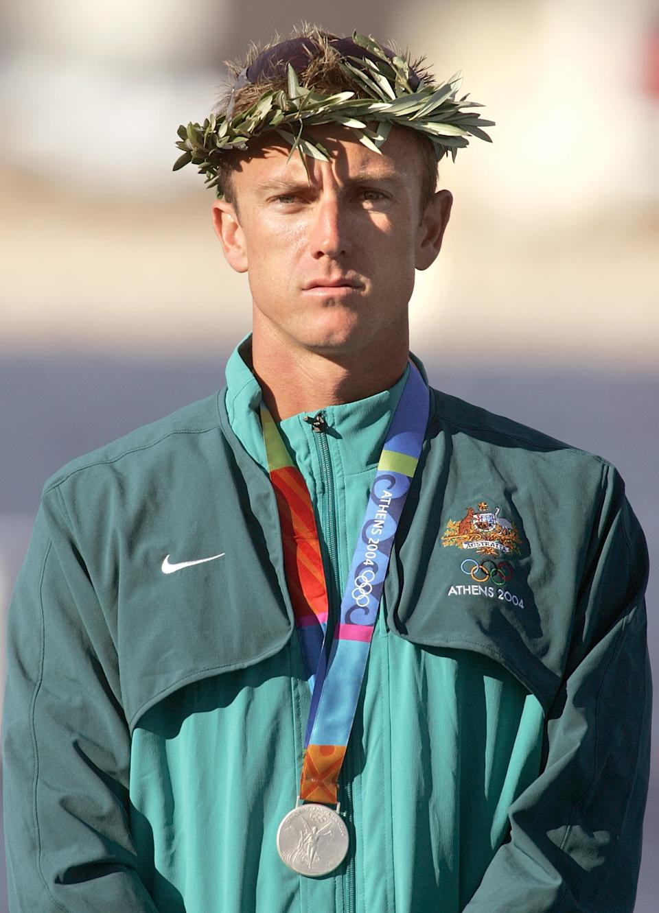 Nathan Baggaley won two silver medals at the 2004 Olympics. (AP Photo/David Guttenfelder)
