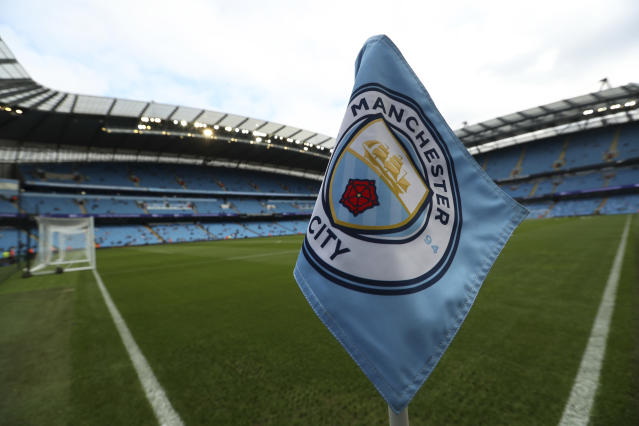 Manchester City will reportedly not be banned from the Champions League over Financial Fair Play violations. (AP Photo/Jon Super)