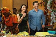 """<p>Starring <a class=""""link rapid-noclick-resp"""" href=""""https://www.popsugar.com/Rob-Lowe"""" rel=""""nofollow noopener"""" target=""""_blank"""" data-ylk=""""slk:Rob Lowe"""">Rob Lowe</a> and Kristin Davis, <a href=""""https://www.popsugar.com/entertainment/what-is-netflix-holiday-in-wild-movie-about-46770390"""" class=""""link rapid-noclick-resp"""" rel=""""nofollow noopener"""" target=""""_blank"""" data-ylk=""""slk:this holiday rom-com"""">this holiday rom-com</a> tells the story of a woman who - abandoned by her husband the night before they're set to leave on an African safari - decides to travel to Cape Town alone, where she meets a superhot elephant conservationist.</p>"""