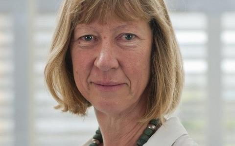 Penny Lawrence became the first executive to quit over the growing scandal - Credit: Oxfam