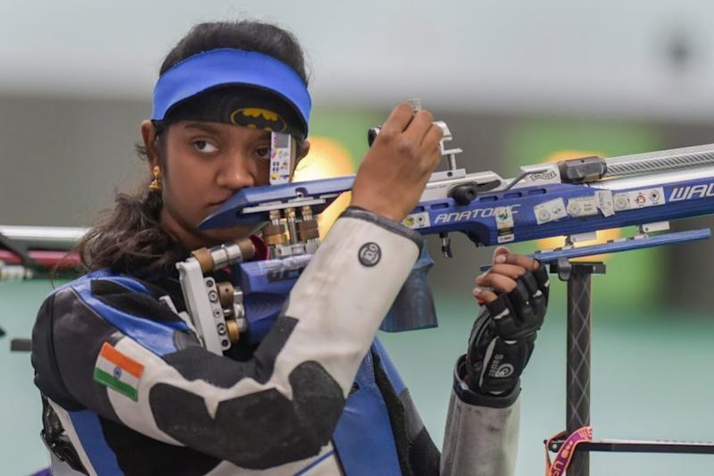 Elavenil Valarivan, Shahu Tushar Mane for Online Sheikh Russel International Air-Rifle Championship