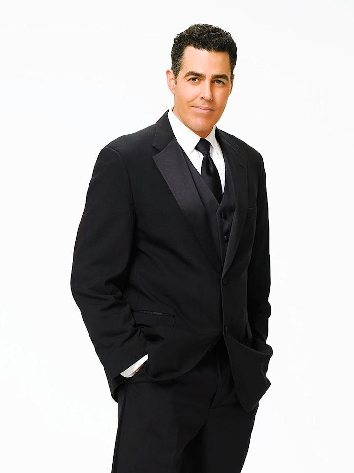Television and radio personality Adam Carolla partners with professional dancer Julianne Hough for Season 6 of Dancing with the Stars.