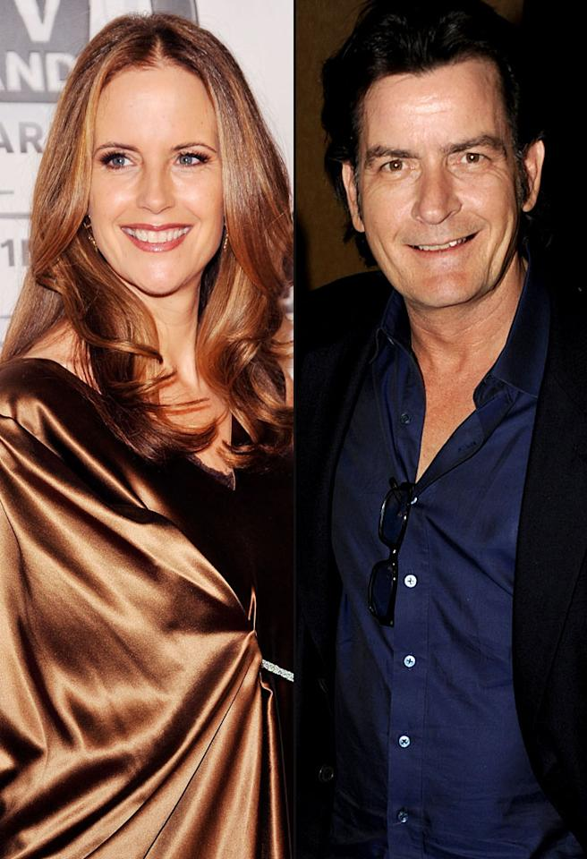 Though she's now been married to Travolta for 21 years, just a year before the couple tied the knot, actress Kelly Preston was engaged to another actor -- Charlie Sheen. The two broke up after reports surfaced that Sheen accidentally shot her. Last year the troubled actor claimed that Preston shot herself when she picked up a pair of his pants, the gun fell out, and a bullet discharged. Whatever happened, she probably made the right move by moving on from Charlie!