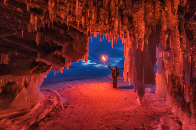 """<p>""""Baikal is one of the world's pearls."""" (Caters News) </p>"""