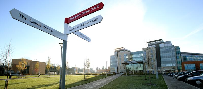 Peterborough City Hospital, Cambridgeshire.  (Photo: Chris Radburn - PA Images via Getty Images)