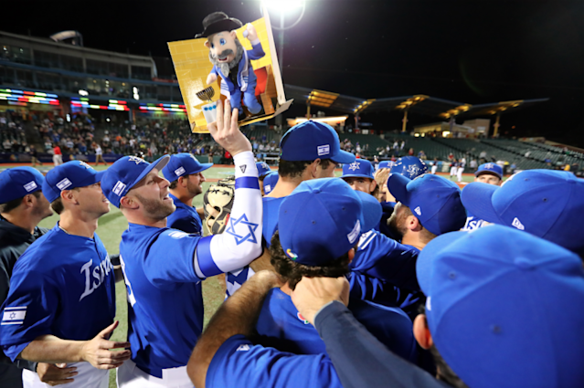 Team Israel will finally get a chance to show off its skills in the World Baseball Classic. (Getty Images/Alex Trautwig)