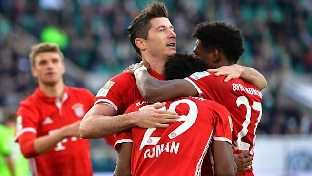 ​Bayern Munich made history on Saturday by becoming the first team to lift five Bundesliga titles in a row. Their 27th top flight trophy in total was sealed with a 0-6 victory in Wolfsburg that was as imperious as their entire season. Carlo Ancelotti, who has now won league titles in four of Europe's 'big five' leagues, has continued the work of predecessors Pep Guardiola and Jupp Heynckes to lift the league trophy as manager in a season that has only seen the Bavarians defeated twice in 31...