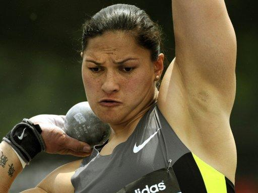 Women's Olympic golds on athletics' Day 4 will be decided in the shot put, with New Zealand's defending world and Olympic champion Valerie Adams (pictured in June) big favourite