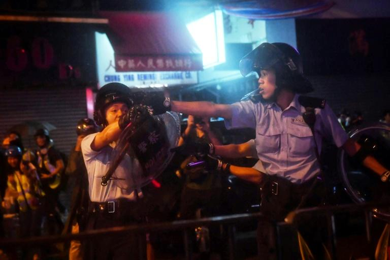 The clashes on August 25, 2019 were some of the worst in the twelve weeks of political unrest tremoring through Hong Kong