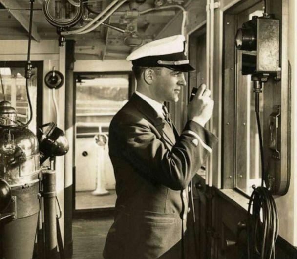 PHOTO: Lt. James Crotty as an ensign aboard a Coast Guard cutter. Crotty served aboard several cutters and on both coasts of the U.S. including Alaska before departing for the South Pacific. (MacArthur Memorial Library)