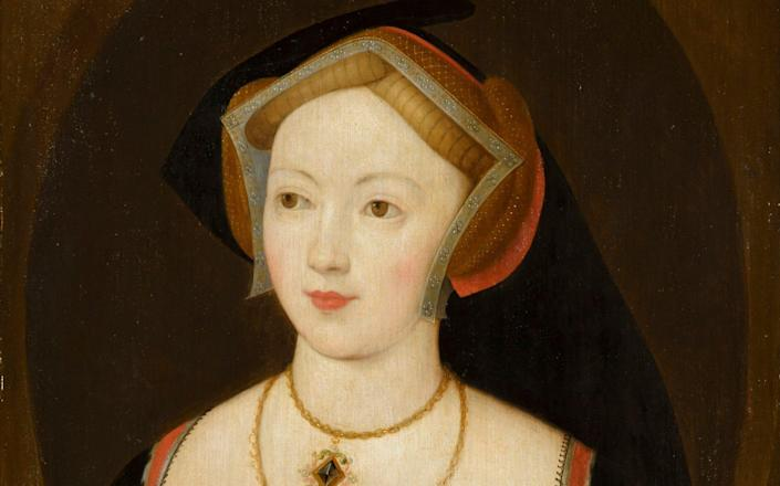 The painting Portrait of a Woman, which has been identified as Mary Boleyn - Royal Collection Trust / © Her Majesty Queen Elizabeth II 2020
