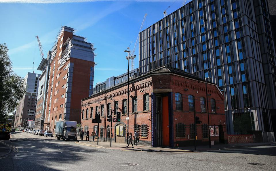 A general view of the apartment Montana House next to the night club The Factory in Manchester. Reynhard Sinaga, 36, has been jailed at Manchester Crown Court for life and must serve a minimum of 30 years after he was convicted of offences against 48 men.