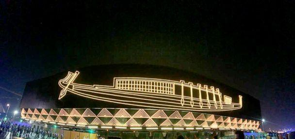 PHOTO: Egyptian Pharaoh Khufu's boat makes a 48-hour journey to new museum. (Egypt's Antiquities Ministry)