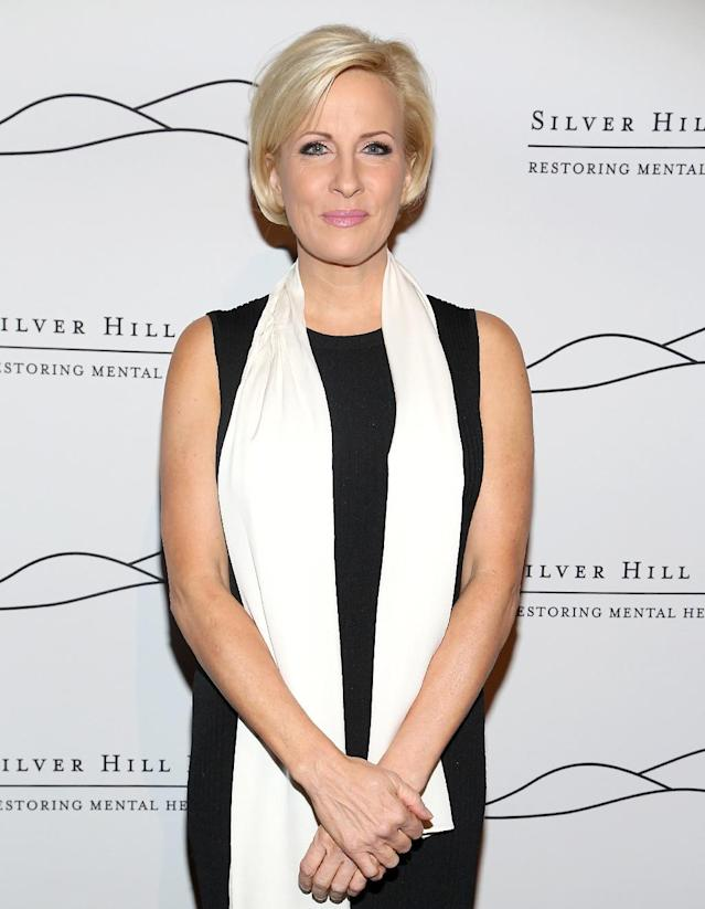 """<p>Trump <a href=""""https://www.yahoo.com/celebrity/mika-brzezinski-reveals-true-story-behind-president-trumps-face-lift-tweet-begged-name-doctor-214420106.html"""" data-ylk=""""slk:is facing fallout from his June 29 tweets;outcm:mb_qualified_link;_E:mb_qualified_link"""" class=""""link rapid-noclick-resp newsroom-embed-article"""">is facing fallout from his June 29 tweets</a> about the <i>Morning Joe</i> co-host, after she riffed on him having fake covers of himself on <i>Time</i> magazine in his golf clubs. """"I heard poorly rated @Morning_Joe speaks badly of me (don't watch anymore). Then how come low I.Q. Crazy Mika, along with Psycho Joe, came to Mar-a-Lago 3 nights in a row around New Year's Eve, and insisted on joining me. She was bleeding badly from a face-lift. I said no!"""" Trump was roundly criticized for the tweets — including by those in his own party — because it was a distraction from the real issues. It was also another example of Trump's highly questionable treatment of women. For her part, Brzezinski hit back with a photo of a Cheerios box that read, """"Made for little hands,"""" referencing an insult made about Trump during his campaign and said the incident made her worried for the country. (Photo by Sylvain Gaboury/Patrick McMullan via Getty Images) </p>"""