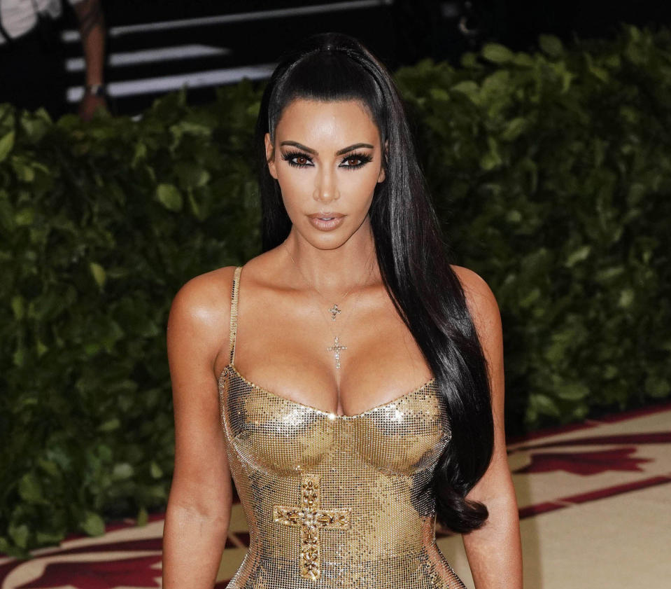 APRIL 26th 2021: Kim Kardashian West praises United States of America president Joe Biden for acknowledging that the massacre of more than a million Armenians by Ottoman Turks during World War I was a genocide. - File Photo by: zz/XPX/STAR MAX/IPx 2018 5/7/18 Kim Kardashian West at the 2018 Costume Institute Benefit Gala celebrating the opening of