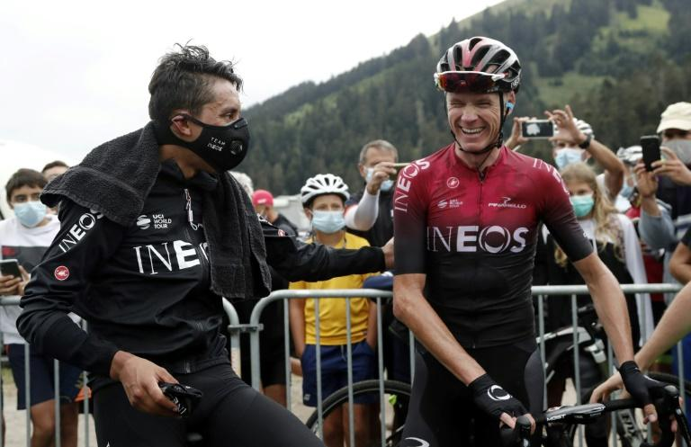 Froome returns to crash scene for Dauphine mountain test